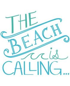 Showcase your love for the seashore every day with the WallPops Beach is Calling Wall Quote Decal . This vinyl decal accents your living space with vibrant,. Wall Quotes, Me Quotes, Beach Quotes And Sayings, Beach Life Quotes, Summer Sayings, Life Is A Beach, Short Beach Quotes, Ocean Sayings, Summer Beach Quotes