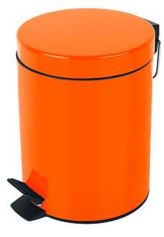 #Spirella Orange Sydney Pedal Bin