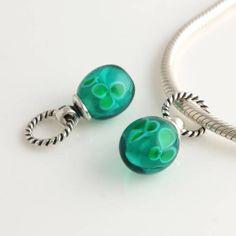 Pandora Jewelry Green Waterdrop Cyrstal Dangle Pandora Charm