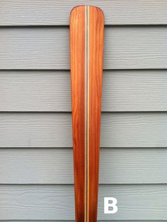 70 Laminated Cedar and PIne Greenland Storm Paddle by SCMKayaks, $180.00