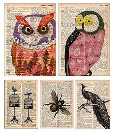 Illustrations sur journaux
