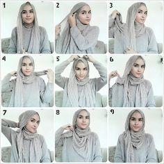 .@zahratuljannah | Satu lagi yaaa :) have a happy sunday dear friends :) #hijabtutorialbyzahra #... | Webstagram - the best Instagram viewer