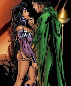 Mar'i Grayson and Damian Wayne