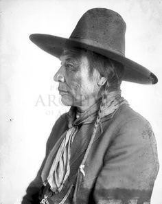 Duck Chief (the son of Running Rabbit) - Blackfoot (Siksika) - circa 1920