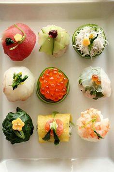 Spring Temari Sushi