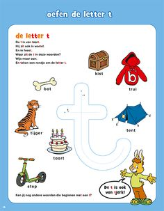 Letter T Worksheets, Preschool Worksheets, Letter I, Letter Logo, Free Preschool, 4 Kids, Classroom, Activities, Lily