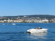 Der Zürichsee ist ein perfektes Revier für Motorbootfreunde Switzerland