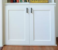 [ How Build Cabinet Door Decor And The Dog Home Improvements Refference Replacing Kitchen Doors Diy ] - Best Free Home Design Idea & Inspiration Shaker Cabinet Doors, Shaker Cabinets, Diy Kitchen Cabinets, Kitchen Cabinet Doors, Building Cabinet Doors, Cabinet With Doors, Diy Cupboard Doors, Kitchen Island, White Cabinet