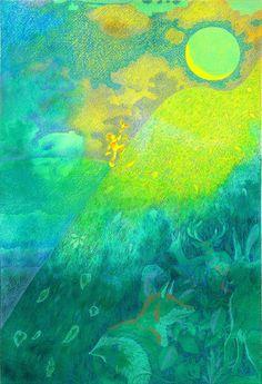 """Towards Springlight."" Print by Jan Nesbitt"
