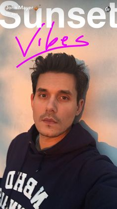 John Mayer on Snap Chat ❤️
