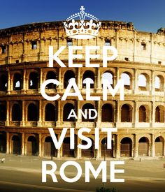 Want to visit Rome ! We've already started planning. Lady bug would have to stay home with parents when we go tho <3