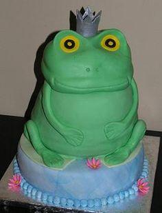 Frog Prince Cake :)