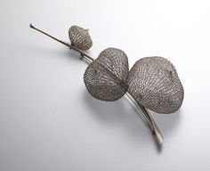 joo_brooch: Sowon Joo's conceptual jewelry.  Somehow she is able to effectively…