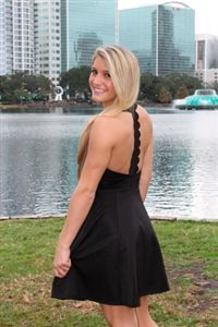 MINKPINK: The Black Dress #littleblackdress #minkpink #scalloptback #flirty #sexy www.Shoplaurennicole.com
