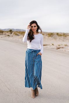 THE BUTTON DOWN MAXI SKIRT IN DENIM
