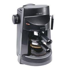 Mr Coffee ECM250 4Cup EspressoCappuccino Maker >>> Visit the image link more details. Note:It is affiliate link to Amazon.