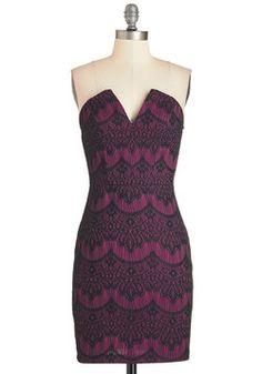 Call It a Date Night Dress in Magenta