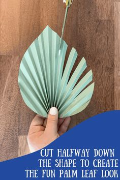 Paper Flowers Craft, Giant Paper Flowers, Rolled Paper Flowers, Flower Crafts, Diy Flowers, Inexpensive Flower Arrangements, Palm Tree Decorations, Paper Fan Decorations, Diy Arts And Crafts