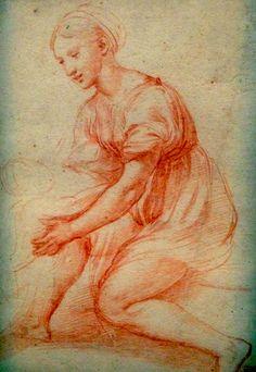 Raphael female study