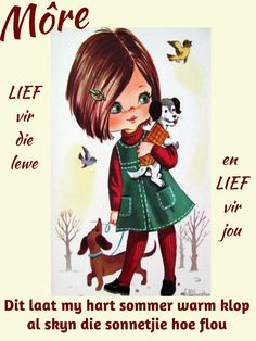 Good Night, Good Morning, Goeie Nag, Goeie More, Afrikaans, Projects To Try, Amanda, Anime, Movie Posters