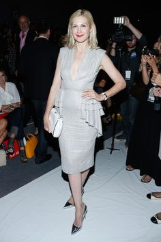 Kelly Rutherford - Son Jung Wan - Front Row - Mercedes-Benz Fashion Week Spring 2014