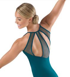 One of the prettiest leotards I have ever seen!  Leotards - Girl's and Women's Dance Leotard