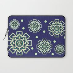 Celtic Snowflake Laptop Sleeve