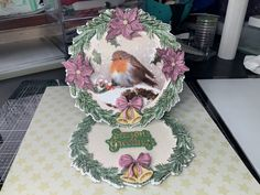 Christmas Crafts, Christmas Ideas, Carnations, Folded Cards, Winter Wonderland, Card Making, Seasons, Crafty, Handmade Cards