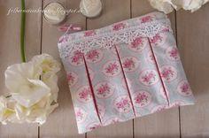 "Make-up bag ""Susie"" (by pattydoo) made of Tilda fabric"