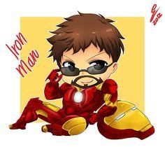 Chibi Iron Man by irask.deviantart.com on @deviantART