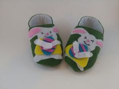 Dancing Easter Bunny Baby Shoes!