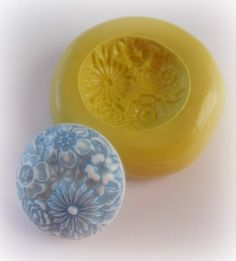 Mold Cabochon Flower Jewelry Finding Mould | Dinkalulu - Handmade Supplies on ArtFire