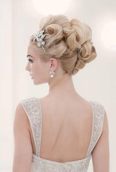 Princess hair for wedding, wedding updo, special event hair, prom hair