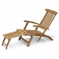 Bali Liege, Gestell und Sitz-/Liegefläche: Teak | furniture ...