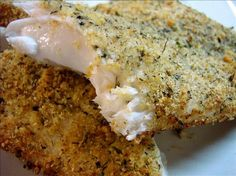 Parmesan Crusted Tilapia - made this for dinner tonight - very good!