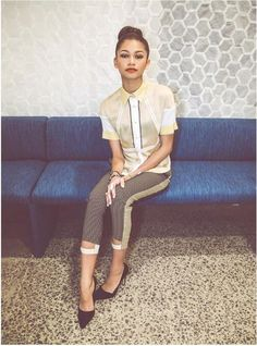 Zendaya Coleman in NKD Magazine, March 2014 Estilo Zendaya, Mode Zendaya, Zendaya Outfits, Zendaya Style, Zendaya Fashion, Zendaya Coleman, Look Fashion, Womens Fashion, Girl Photography