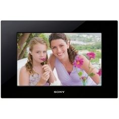 sony wvga lcd digital photo frame black order at