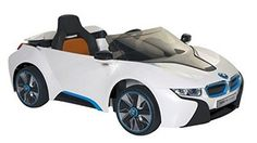 BMW Concept Electric Ride-On Car, White/Black/Blue: Item - 6 Volt BMW Concept Electric Ride-On Car. Enjoy a fun riding experience on this BMW Concept electric ride-on car. Bmw I8, Bmw Electric Car, Selling On Craigslist, Buy Bmw, Power Wheels, Kids Ride On, Ride On Toys, Diy Car, Concept Cars