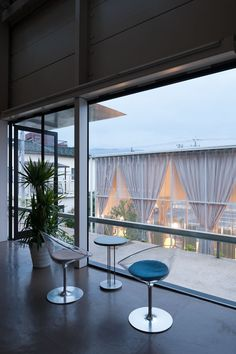 Transparent Extension Designed For a Modern Hair Salon