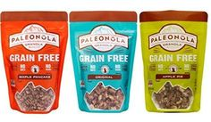 Paleonola Grain Free Gluten Free Granola 3 Flavor Variety Bundle 1 Paleonola Original Granola 1 Paleonola Apple Pie Granola and 1 Paleonola Maple Pancake Granola 10 Oz Ea 3 Bags Total ** Check this awesome product by going to the link at the image. (This is an affiliate link and I receive a commission for the sales)