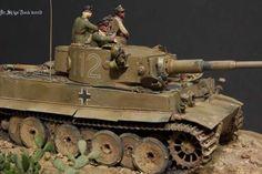 Tiger 112 of Schwere Panzer Abteilung 501 in Tunisia
