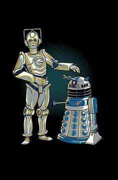 Doctor Who Star Wars Mash-up