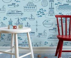 10 children's wallpapers for nurseries