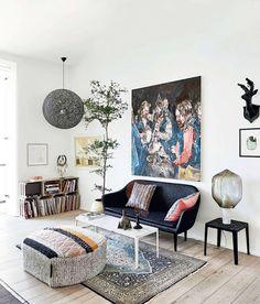 copenhagen makeover / elle decor UK