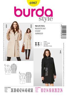 Simplicity Creative Group - Burda Style Coat