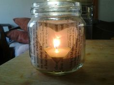 baby jar candle holder
