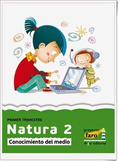 Natura 2. Actividades digitales de Conocimiento del Medio de 2º de Primaria. Ediciones Bromera.