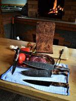 Kitchen knives - Nože do kuchyně Damascus Steel, Kitchen, Cooking, Kitchens, Cuisine, Cucina