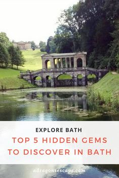 The Palladian Bridge at Prior Park - Bath, SW England. I lived in Bath for three years, and visiting Prior Park was one of my favourite secret places to escape to for an afternoon. Find the top 5 hidden gems to explore in Bath here! Top Travel Destinations, Travel Tips, Travel Uk, Travel England, Travel Goals, Travel Guides, Family Travel, Travel Photos, Visit Bath