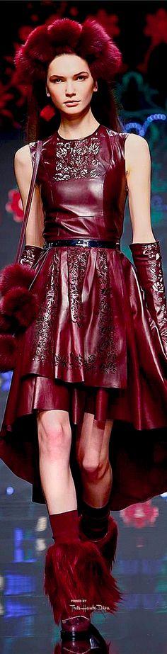 Milan Fashion Week.           Aigner.          Fall 2015.           Ready-To-Wear.